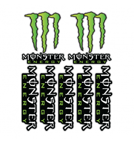 Monster Energy Stickers Kit