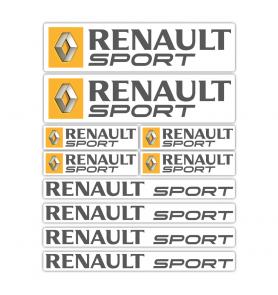 Renault Sport Stickers Kit