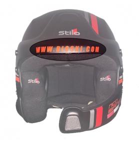 Custom lettering for helmet