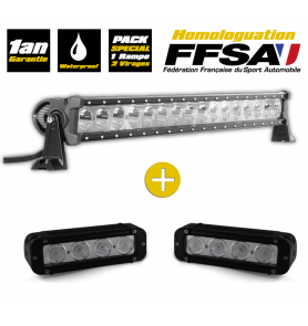 Ramp kit 16 LED + 2 flood lights 4 LED