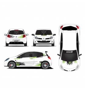 Kit déco Rallye Universel 10