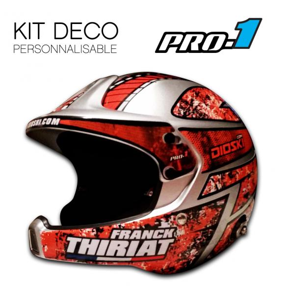 Stickers Helmet Stilo Wrc Pro1 Color Deco 1 Bleu Brillant