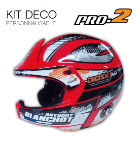 Stickers Helmet Stilo WRC PRO2