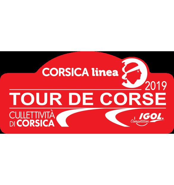 Stickers Tour De Corse 2019
