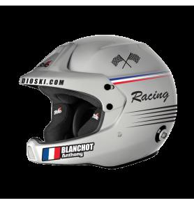 """Déco Casque """"France racing"""""""