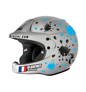 "Stickers Helmet ""Splash"""