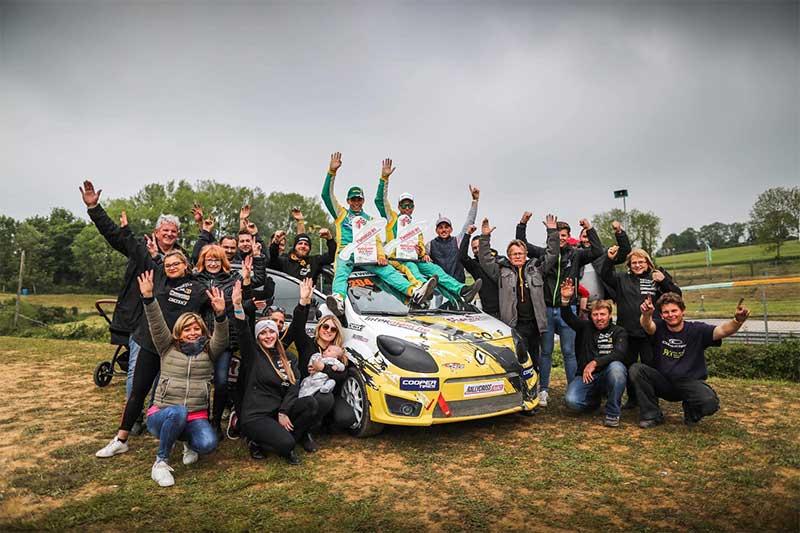 Dylan Dufas s'offre la victoire en Twingo RX !